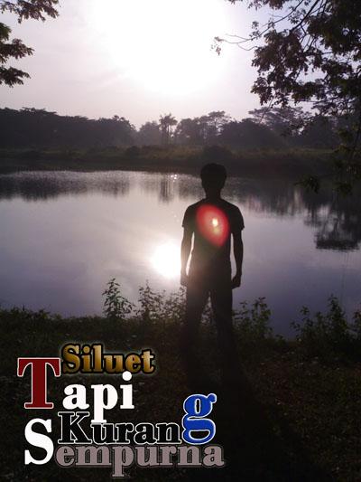 Ini dia foto siluet yang dihasilkan dari kamera hp n70,,,,